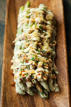 japanese-style asparagus frites recipe | use real butter