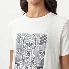 Saltbox Printhouse (@saltboxprinthouse) • Instagram-foto's en -video's Fashion Prints, Fashion Design, Graphic Design, T Shirts For Women, Shopping, Collection, Instagram, Meet, Sleeve