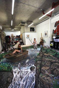 3d Street Artist Joe Hill
