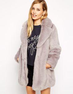 Whistles+Kumiko+Faux+Fur+Coat