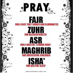 Ya Allah grant us the ability to read every salah with full dedication & obediance