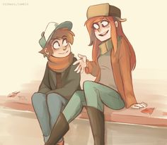 I love Dipper x Wendy, but Dipper x Pacifica is great too D: