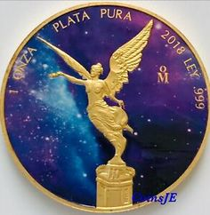 24k Gold Gilded  F NEW  2019 Tree of Life 1 oz .9999 pure Silver Coin