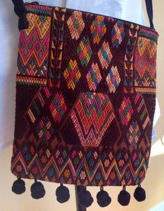 Oaxacan Textile Purse by CactusBlossomVintage on Etsy, $28.00