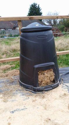 Hay feeder idea...