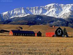 Mike Brennan ranch, son of actor Walter Brennan, Joseph, Oregon State Of Oregon, Oregon Trail, Joseph Oregon, Oregon Living, Field Of Dreams, Old Barns, Day Hike, Pacific Northwest, Vacation Spots