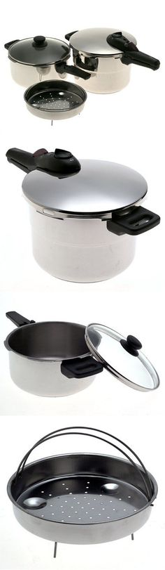 Cookers and Steamers 20672: Fagor Splendid 2 In 1 Pressure Cooker Stainless Steel 5 Piece Set -> BUY IT NOW ONLY: $69.99 on eBay!