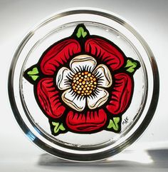 Simple and elegant rose design used in Elizabethan houses all over ...