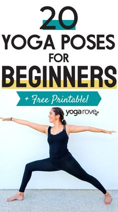 All beginners should learn these 20 yoga poses to get flexibility and strength. Best Weight Loss Plan, Weight Loss For Women, Easy Weight Loss, Workouts For Teens, Beginner Workouts, Yoga Workouts, Yoga Routine For Beginners, Yoga For Flexibility, Yoga At Home