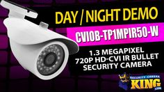 Day/Night Video - CVIOB-TP1MPIR50-W - 1.3 Megapixel 720p HD-CVI IR Bulle...