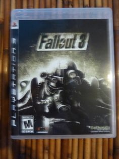 Fallout 3 #PS3 Video Game Never Played Complete w/ Manual http://r.ebay.com/VDUQg3 @eBay #fallout3 #sale #Bethesda #playstation3
