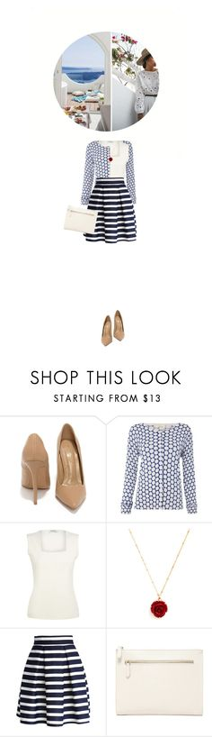 """""""How to Wear: Stripes"""" by fashionbrownies ❤ liked on Polyvore featuring Shoe Republic LA, Kaliko, Retrò, Chicwish, Forever 21, stripes, summerstyle, polyvoreeditorial and summer2017"""