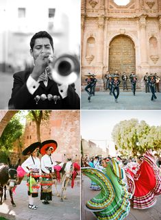 The mariachi and folklorico dancers are just one of the many gorgeous aspects of the Mexican culture.