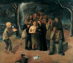 Felix Nussbaum - The Storm / The Exiles (1941)
