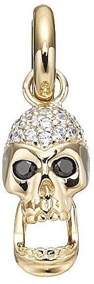Story Gold Skull Charm