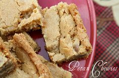 Mommy's Kitchen: Southern Pecan Chewies