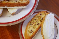 Biscotti homemade is easy to make