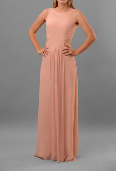 Queen of the Night bridesmaid dress by Nicole Miller in blush Beautiful Bridesmaid Dresses, Wedding Bridesmaid Dresses, Cute Dresses, Beautiful Dresses, Semi Formal Dresses, Formal Wear, Dress Rental, Queen Dress, Bridesmaids And Groomsmen