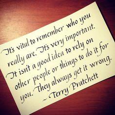 Terry Pratchett: The Final Walk With Old Friend by techgnotic on DeviantArt