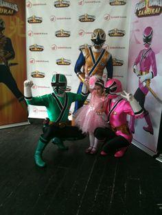Power Ranger Friends October 2011