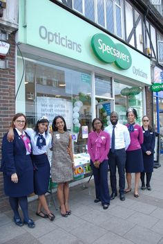 953ea70c960 A thriving West Wickham optician is celebrating 10 years of service in the  local community by kick-starting a fundraising drive for Deafblind UK.