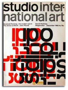 Studio International, 1963