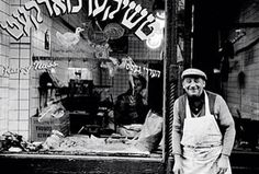 A butcher's shop in the lower east side of Manhattan. Photo by Vivian Cherry.