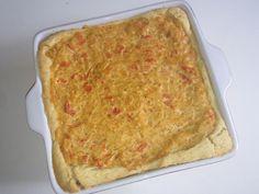 Receita de torta de cebola da minha família, de infância.