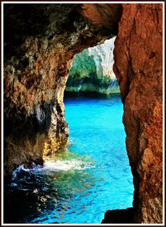 Blue caves ... (Zakynthos - Greece)