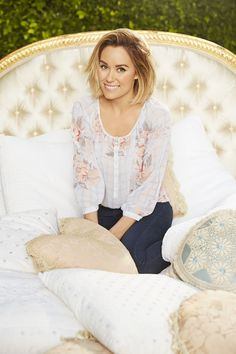 Balance the romance of spring's sheer, floral peasant tops with dark denim. LC Lauren Conrad at Kohl's.