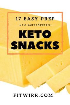 17 Easy to prep low-carb keto snack ideas to try this summer. These are super portable and require almost no cooking except few. These keto snacks are perfect for office snacks and for on-the-go.  #ketosnacks
