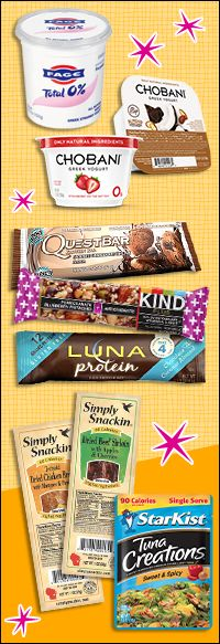 Easy #protein-packed snacks & recipes!