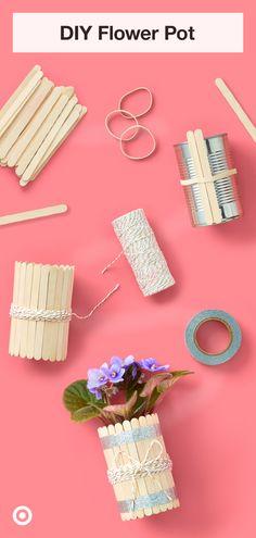Diy Crafts To Do, Diy Crafts Hacks, Fun Crafts For Kids, Craft Activities For Kids, Jar Crafts, Summer Crafts, Cute Crafts, Craft Stick Crafts, Toddler Crafts