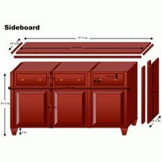 How to Turn Kitchen Cabinets into a Sideboard Overview