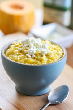 Butternut Squash and Goat Cheese Risotto