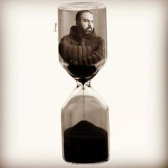 Ashes to ashes Conceptual Photography, Conceptual Art, Sand Glass, Double Exposure, Hourglass, Ash, My Photos, Instagram, Gray