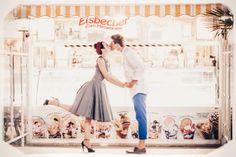 #weddingphotoshoot #couple #love #vintage #retrolove #icecream