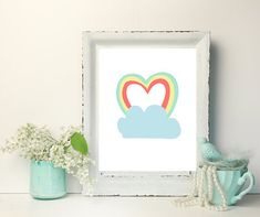 Check out this item in my Etsy shop https://www.etsy.com/ca/listing/600403088/rainbow-heart-picture-rainbow-artwork