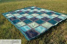 Crochet using quilt blocks