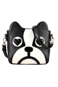 Cute Dog Head Shape Shoulder Bag OASAP.com