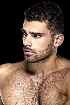 Beautiful Men Faces, Gorgeous Men, Hairy Men, Bearded Men, Hairy Hunks, Ronaldo, Handsome Faces, Raining Men, Hairy Chest