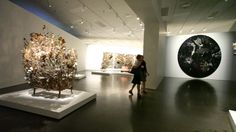 Exhibition Tour with Nick Cave - he radiates love Love of his craft, love of humanity, love of life