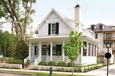 Sugarberry Cottage,Plan - Top 12 Best-Selling House Plans - Southern Living Should I ever really agree to a tiny house. Best House Plans, Small House Plans, White House Plans, Small Farmhouse Plans, Square House Plans, Building A Small House, Small Cottage House Plans, Small Cottage Homes, Family House Plans