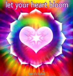 a flowering heart ...