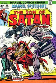 Marvel Spotlight #17, The Son of Satan, Spyros