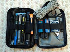 "Nice example of a ""micro"" bug-out bag."