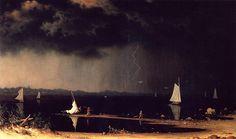 Martin Johnson Heade (1819-1904) American Painter ~ Blog of an Art Admirer
