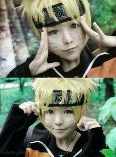 Cute naruto cosplay