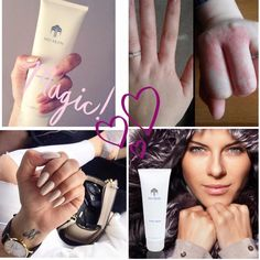 A rich and luxurious lotion designed specifically for hands!! ✔ Soothes eczema ✔ Formulated with conditioners, which pamper your skin ✔ Features aloe vera & natural emollients ✔Includes NaPCA, a humectant that actually binds moisture to  your skin ✔ Moisturizes instantly to  ✔ Comfort dry, chapped skin  ✔ Never greasy or sticky  ✔ Absorbs quickly ❤️ Enter CA00173383 for a discount at the checkout: www.nuskin.com ❤️  #Skincare #Beauty