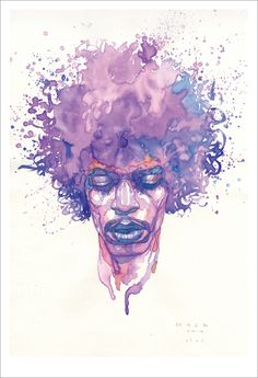 Hendrix by David Mack - Gallery Nucleus